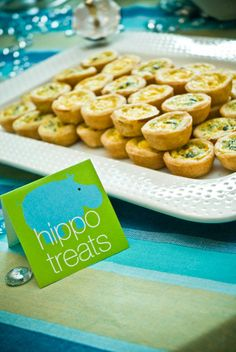hippo treats for safari food - Jungle / safari baby shower