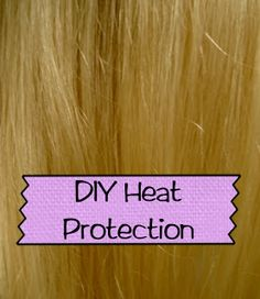DIY Heat Protection Spray for Hair Recipe - So easy!