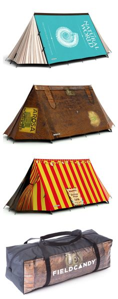 Best tent designs ever! Loving these from Field Candy. They're so on my Travel Gift Ideas story for this holiday season.