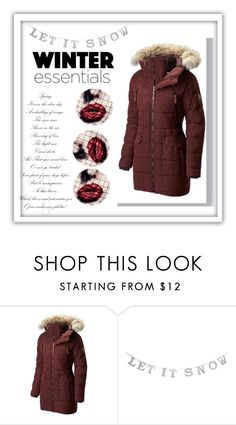 """""""winter coat"""" by vilejar ❤ liked on Polyvore featuring SOREL"""