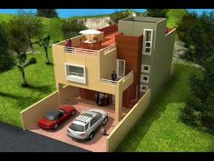 Planos de Casas Modelo Santa Juliana #129 Arquimex Planos de Casas - YouTube
