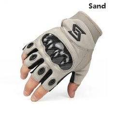 Armor tactical gloves Half-fingers Military enthusiasts sheepskin gloves Outdoor research gloves
