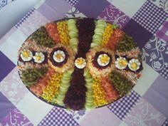 décoration salade