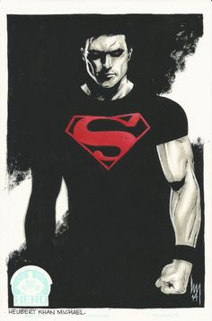 Superboy by Heubert Khan Michael, in Louis Lopez's Superboy Comic Art Gallery Room Mundo Superman, Batman Vs Superman, Superman Artwork, Superman Wallpaper, Hq Marvel, Marvel Dc Comics, Comic Books Art, Comic Art, Superboy Young Justice