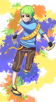 a069a44211 jet set radio future   yoyo by silverchariotx-da692tm