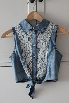 denim and lace simply darling :)