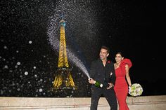 Probably the most chic and elegant engagement photo shoot in Paris. With Par and Amir we created a true Paris engagement inspiration