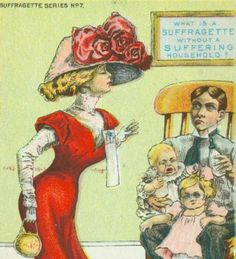 Suffragette's made kids cry