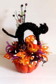 raz m tazz 2 halloween witch boot floral arrangement by sparetimespecialties on etsy httpswwwetsycomlisting234131991raz m tazz 2 halloween