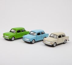 Set of 3 Toy Cars