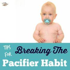 Tips for Breaking the Pacifier Habit
