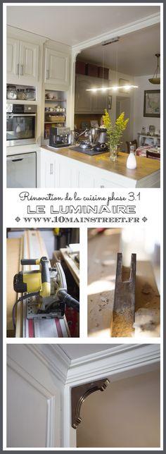 Cuisine 3.1 : le luminaire de la zone comptoir | www.10mainstreet.fr