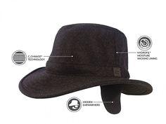 Tilley winter hat. Tec Wool