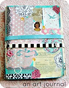 Everyday is a Holiday- one of Jenny's adorable art journals!!