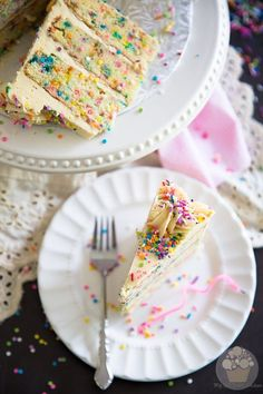 Funfetti Birthday Cake | eviltwin.kitchen
