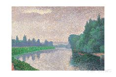 Banks of the River Giclee Print by Paul Signac at AllPosters.com