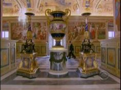 60 Minutes report on the secrets and splendor of the Vatican Library in Rome. Vatican Library, Tudor Era, Love The Lord, Bookbinding, Libraries, Royals, Rome, Documentaries, Faith