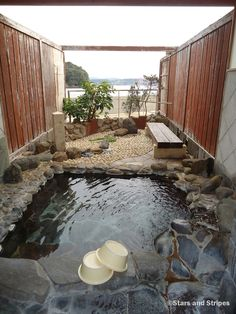 The outdoor private onsen at the Hirado Kaijyo Hotel is one of the best places in #Nagasaki prefecture to thumb your nose up at Mother Nature this winter. Not only does it have a stunning ocean view, but it is affordable and in close proximity to Sasebo. (MATTHEW M. BURKE/STARS AND STRIPES) #travel #Japan