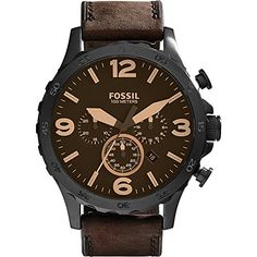Just arrived Fossil Nate Chronograph Leather Watch
