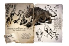 Want to learn what the animals in ARK really were like? Read this guide. Wild Creatures, Fantasy Creatures, Mythical Creatures, Dinosaur Photo, Dinosaur Art, Game Ark Survival Evolved, Mythological Animals, All Dinosaurs, Prehistoric Creatures