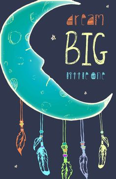 Dream Big Poster by Sara Soto