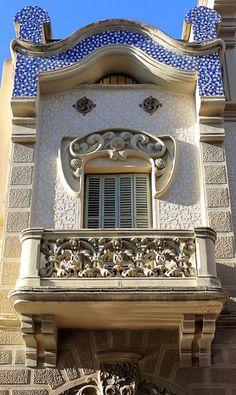Casa Pere Carreres i Robert  1906  Architect: Josep Pujol i Brull