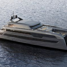 Sunreef Yachts has unveiled the design of the Sunreef Power Superyacht. The multihull will be entirely manufactured at the Sunreef Yachts' construction facilities in the city of Gdansk, Poland. Sunreef Yachts, Yacht Boat, Outdoor Living Areas, Transportation Design, Catamaran, Poland, Boats, Construction, Sea