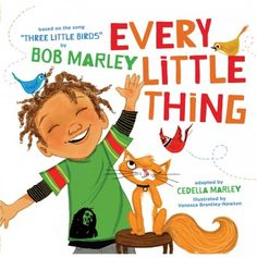 In this illustrated version of Bob Marley's song, a young boy, with the encouragement of three little birds, enjoys life and will not let anything get him down.