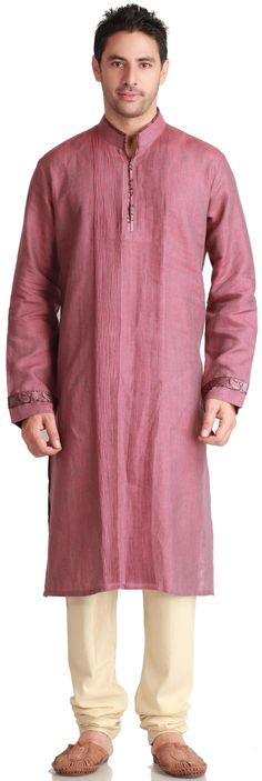 Silk Pintuck Kurta - #Kurtas - MEN'S WEAR// si me lo pongo :)