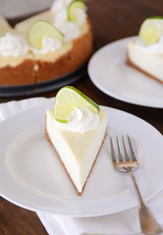 Amazing Key Lime Cheesecake {Plus a Foolproof & Easy Method to Avoid Cracking}   Mel's Kitchen Cafe
