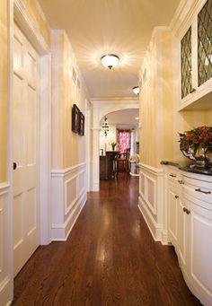 trim, hallway, built-ins