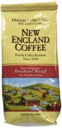 New England Ground Coffee Breakfast Blend 12oz Bag Pack of 3 *** Read more  at the image link.