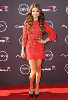 Selena Gomez in #dolcegabbana to the ESPY Awards in Los Angeles