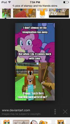 My little pony/minecraft