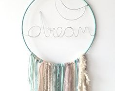 Catches dreams dreamcatcher Flower Vintage by Appartdesfilles