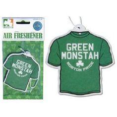 GREEN MONSTAH Air Freshener