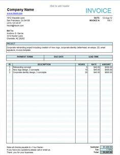 Blank Service Invoice Blank Invoice Blank Service Invoice Template