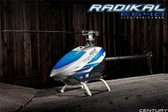 Century Radikal E640 Electric RC Helicopter Base Model w/Flybar Heli by VCSHobbies. $479.00. New lightweight landing gear. 120 degree dual race ball bearing metal swashplate. CNC full metal precision rotor head w/8mm spindle. High quality DuPont® plastic injection mold w/strengthening fibers. Century Radikal E640 Electric RC Helicopter Base Model w/Flybar. Starting a new class of helicopters by incorporating the use of blade sizes up to 640mm allows 700 class ...