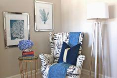 reupholster Strandmon chair