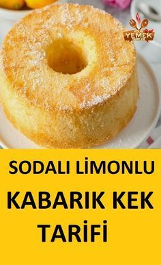 Lemon Soda Cake Recipe- Limonlu Sodalı Kek Tarifi Soda has a great effect on pastries … - Pastry Recipes, Cooking Recipes, Drink Recipes, Soda Cake, Pasta Cake, Delicious Desserts, Yummy Food, Gourmet Cakes, New Cake