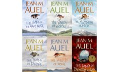 The Earth's Children series by Jean M. Auel