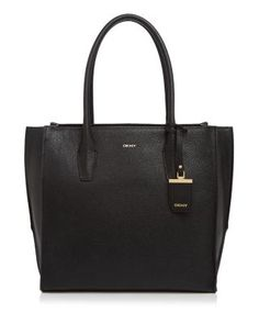 DKNY Vintage Leather Tote. #dkny #bags #leather #hand bags #tote #