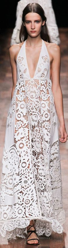 Beautiful dress by Valentino Spring 2015.