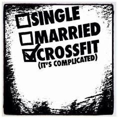 I miss CrossFit so much!! It feels like a breakup. Hopefully we'll be reunited soon.