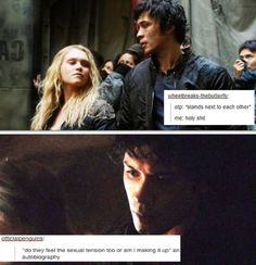 LATERALLY ME. Bellarke Bellamy and Clarke The 100