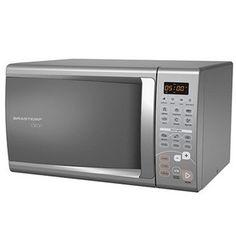 O Microondas Brastemp Cinza Clean 20 Litros BMC20 reúne tudo que sua família precisa para aquecer alimentos deliciosos de maneira simples e rápida!