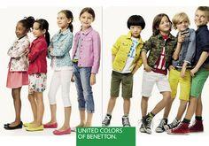 La moda infantil de Benetton, primavera verano 2014