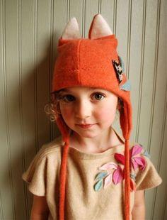 Handmade Fox Ear Hat