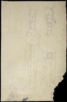 Couple (variation pour Adam et Eve ? Musée National D'art Moderne, Adam Et Eve, Constantin Brancusi, Centre Pompidou, Sculpture, Compost, Shapes, Couple, Paris