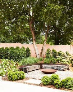 Before you roll up your sleeves this weekend, take some inspiration from 20 of the most beautiful gardens from Australian House & Garden magazine. Backyard Garden Design, Garden Landscape Design, Small Garden Design, Backyard Landscaping, Large Backyard, Modern Landscaping, Garden Fire Pit, Gravel Garden, Garden Beds
